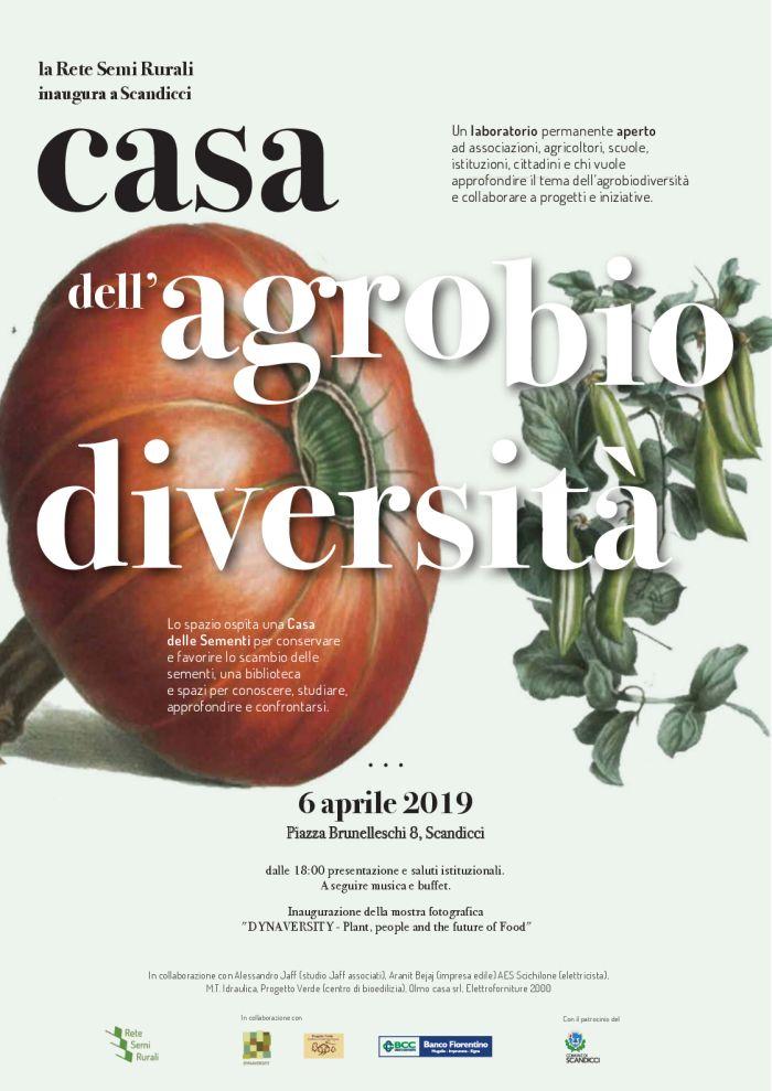 Inaugurazione Casa dell'agrobiodiversità @ Casa dell'agrobiodiversità