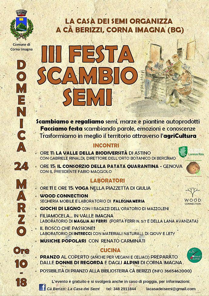 III Festa di scambio semi @ Cà Berizzi - La casa dei semi